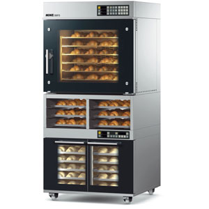 Rack-and-deck-ovens
