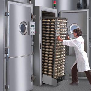 Vacuum-baking-cooling