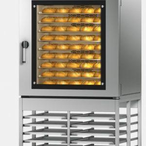 MIWE econo - single 10 tray oven